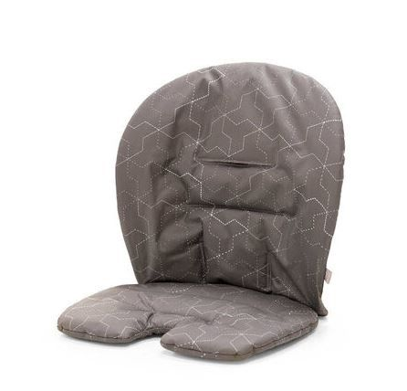 349910 / GEOMETRIC GREY / Steps Baby Set Cushion-Geometric Grey