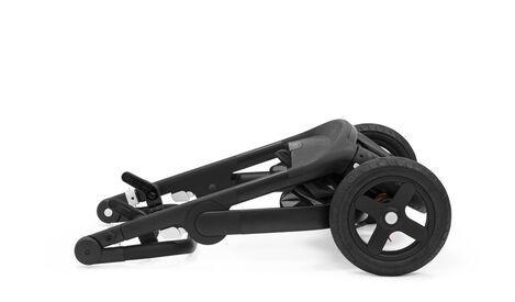 521501 / BLACK MELANGE / Trailz-Blk Chassis/Brown Handle - BLK Melange