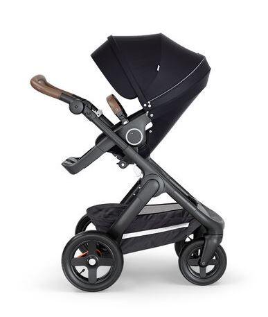 521504 / BLACK / Trailz-Blk Chassis/Brown Handle - Black