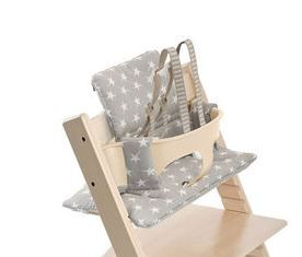 146026 / GREY STAR / Tripp Trapp Classic Cushion - Grey Star