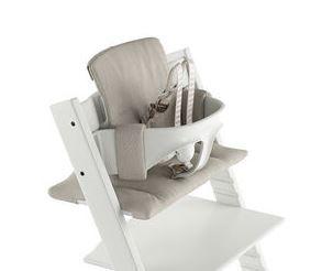 146044 / TIMELESS GREY / TrippTrapp Classic Cushion - Timeless Grey