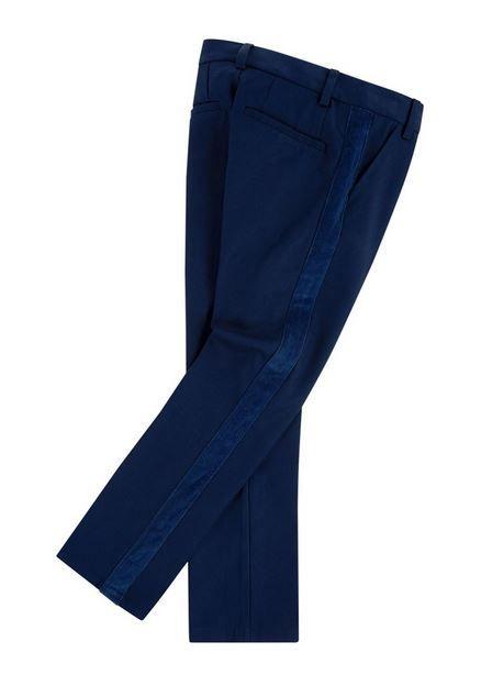 V24234 / 85T BLUE / BILLY BANDIT PANTS W/VELVET DETAILS