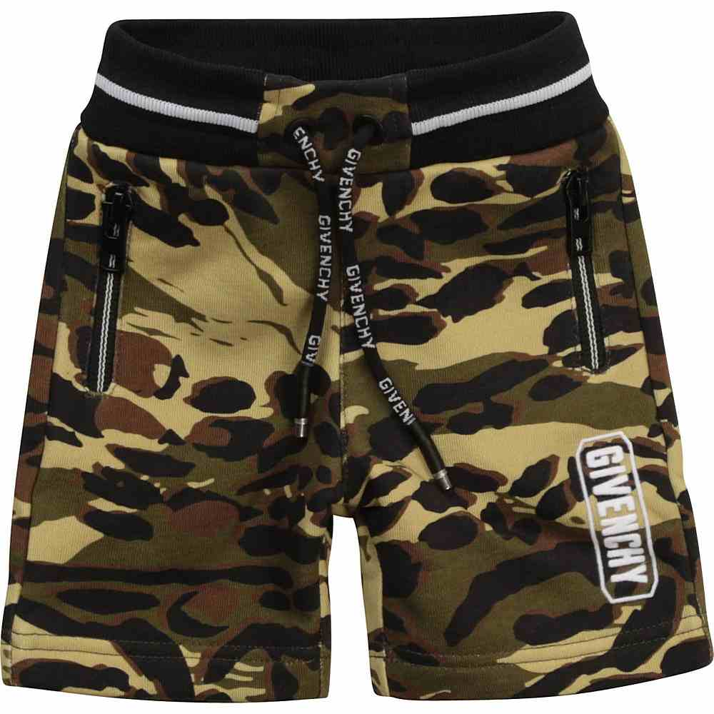 H04099 / 64H CAMO / Short Cmo Print,Logo on Waist Back