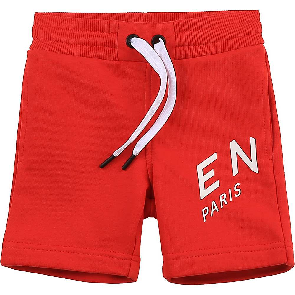 H04098 / 991 RED / Shorts, Printed Logo Refracted