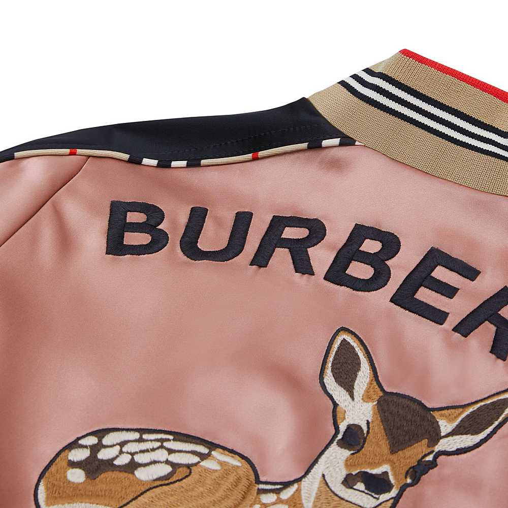 8030328 / DUSTY PINK / BURBERRY IMOGEN DEER JACKET