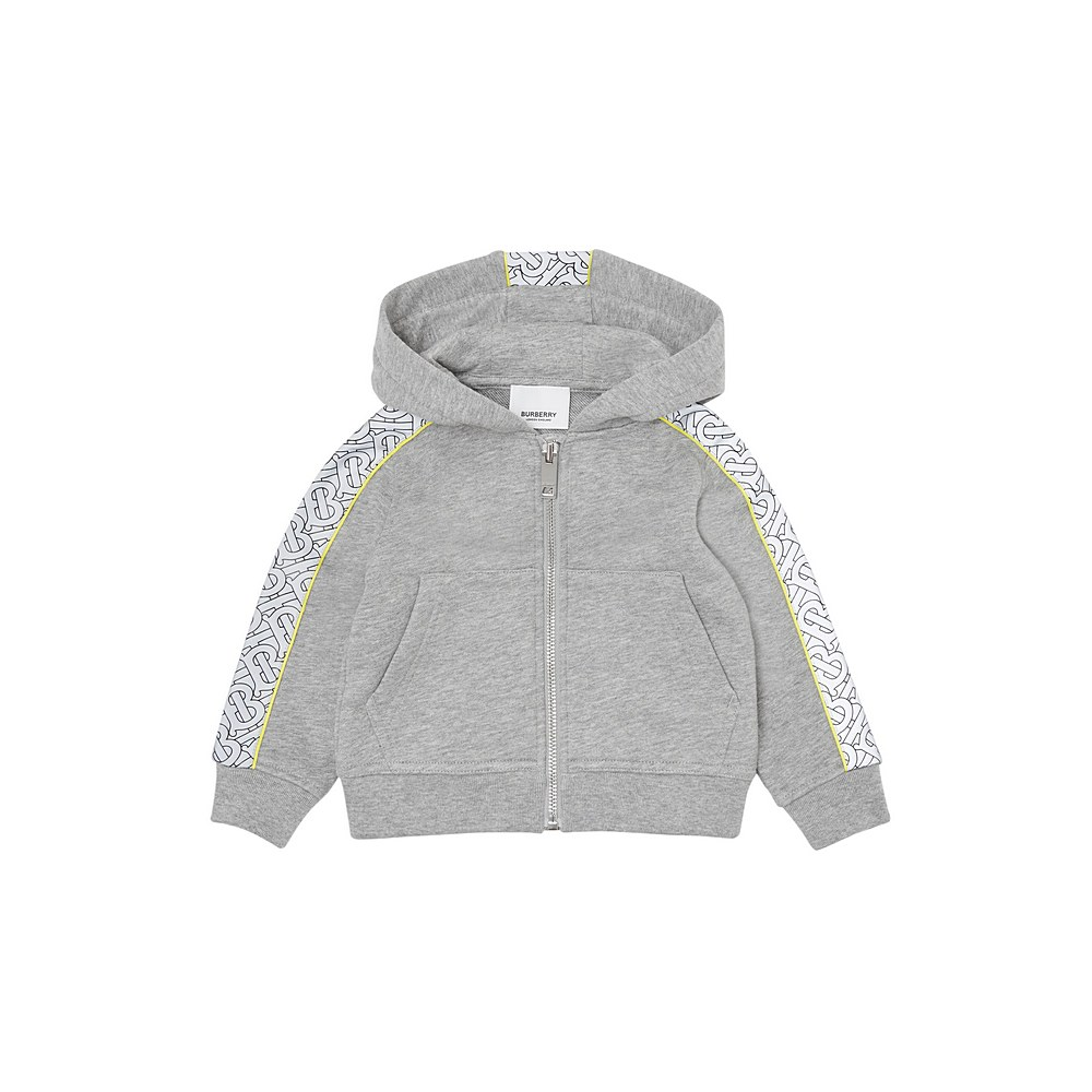 8033024 / GREY MELANGE / BURBERRY BERNARD MINI HOODY