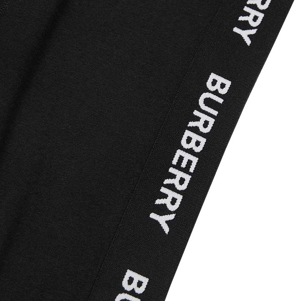 8011008 / BLACK / BURBERRY MINI KRISTA JERSEY TROUSERS