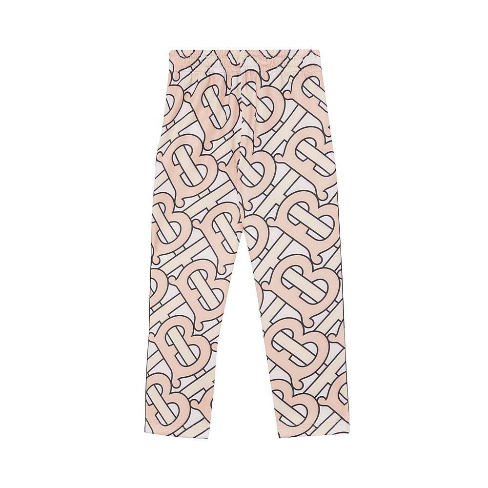 8032825 / ROSE PINK / BURBERRY IP PATTERN IDA JERSEY TROUSERS