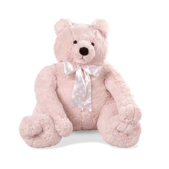 3980 / PINK / MELISSA & DOUG JUMBO TEDDY BEAR