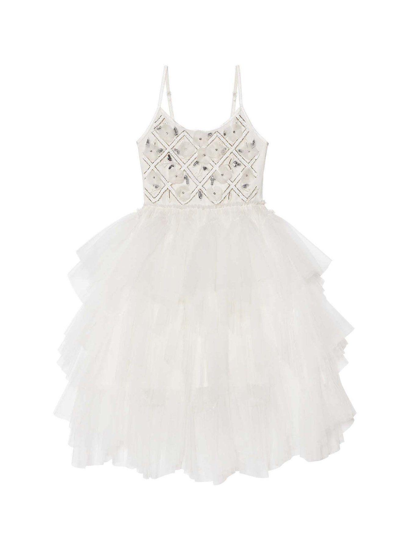 TDM5716 WHITE DRESSES TUTU MONDE