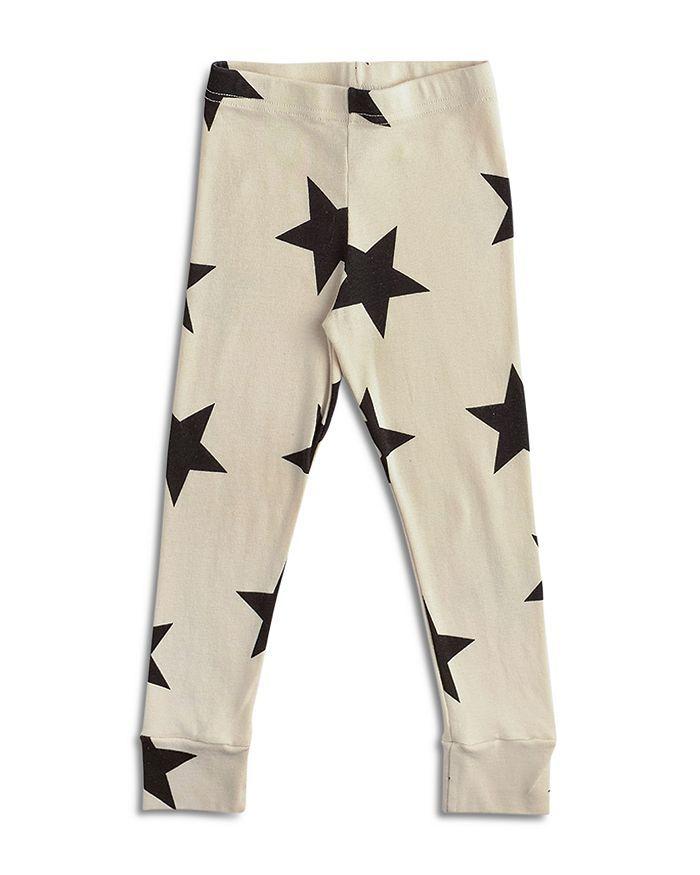 NU1557A / NATURAL / Star Leggings