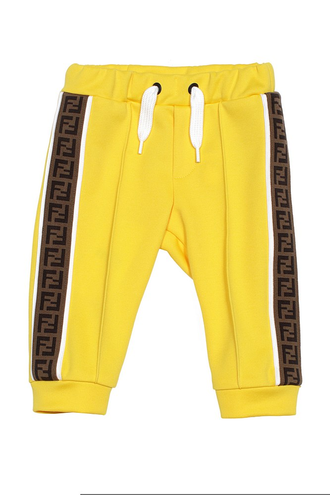 BUF030 A69D. / F1BW2 MUSTARD / Track Pants With Side Logo