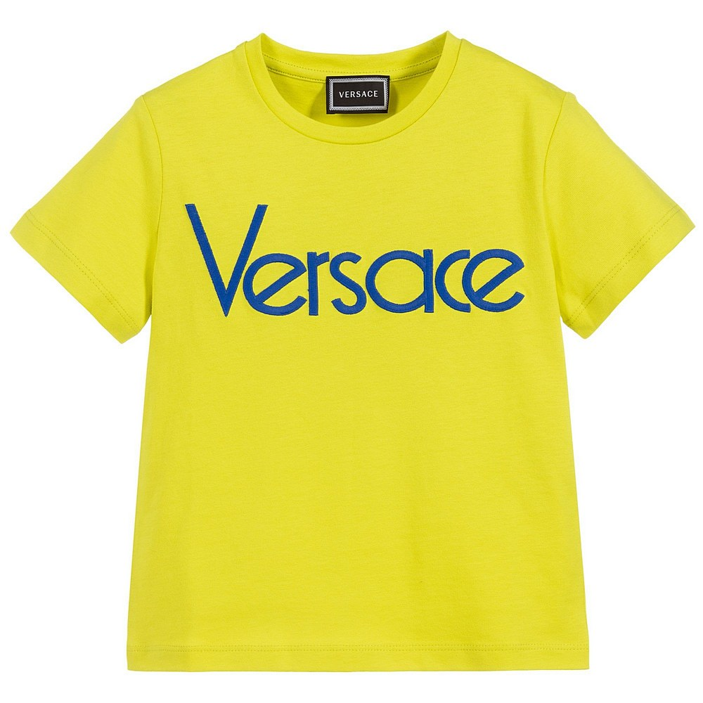 YD000108 / LIME GREEN / Logo T-Shirt