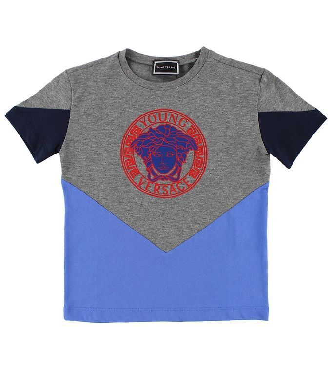 YVMTS211 / GREY / Medusa Logo T-Shirt