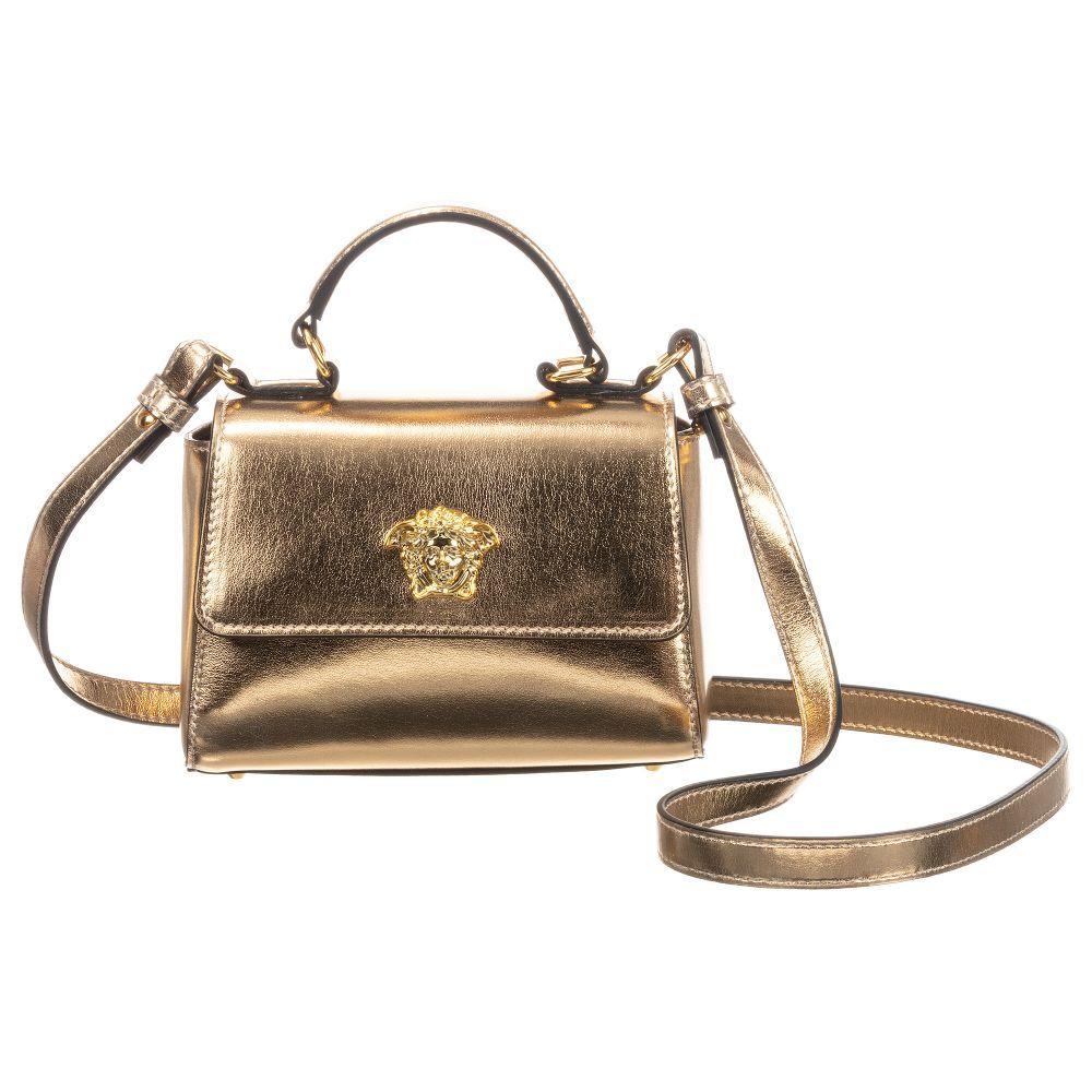 YIF00001 / GOLD / Medusa Handbag