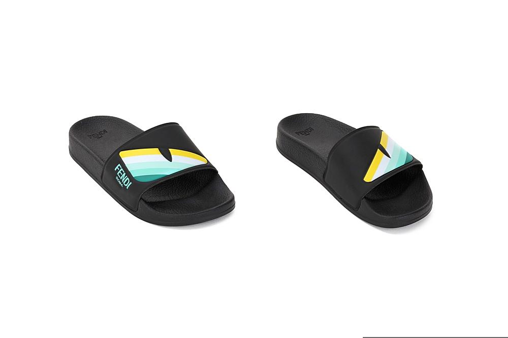 JMR355 AEGL / F0S7B BLACK / Slides With Eye Prt