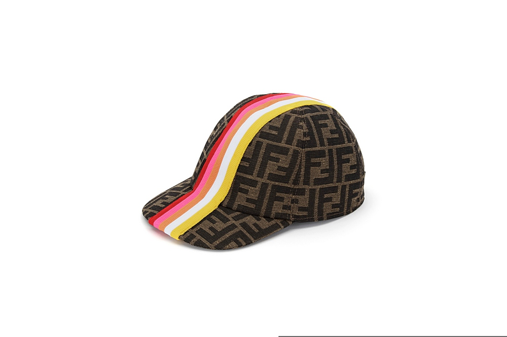 JUP004 AF11 / F1CWQ FUSHIA / Cap With Stripes and Logo Overall