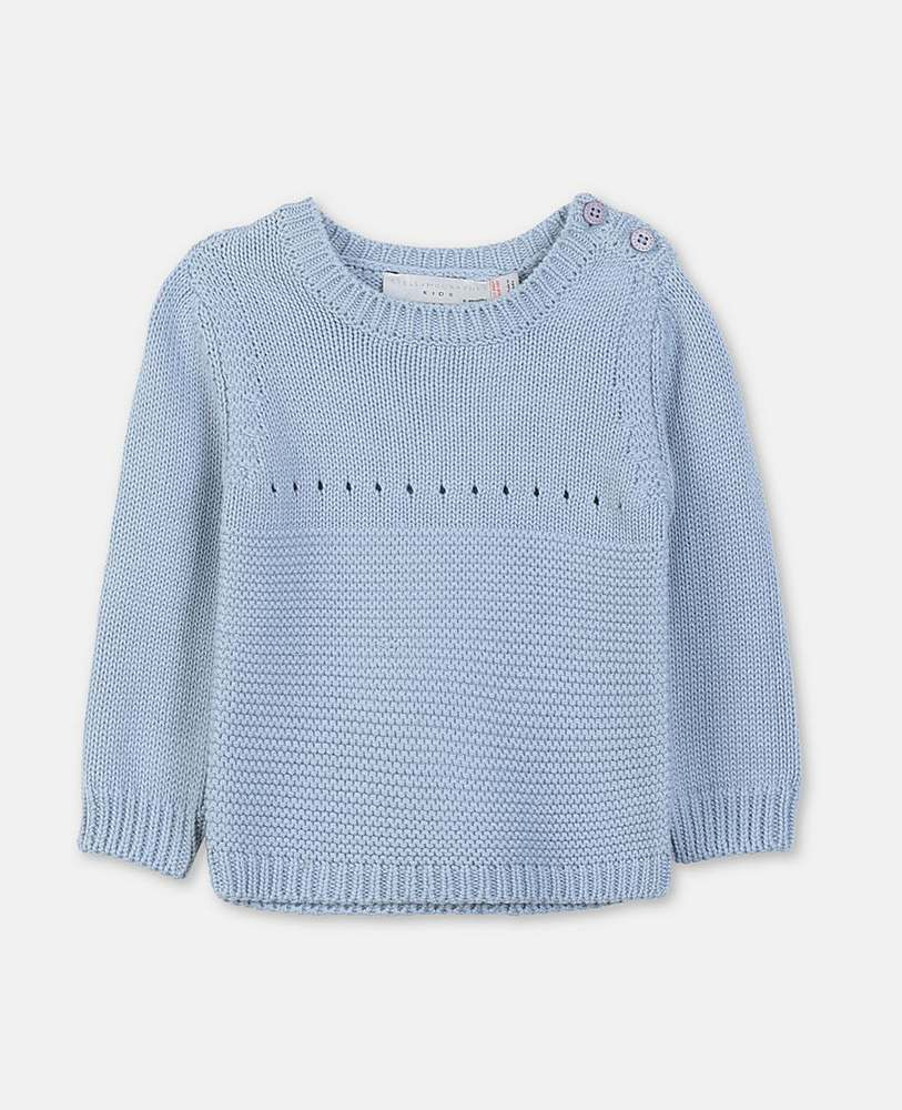 540062 / 4961 BLUE / STELLA MCCARTNEY BUNNY SWEATER/