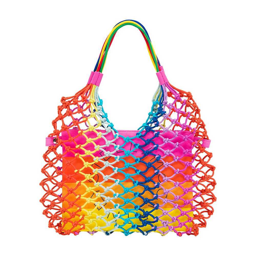 602672 SQD20 / 8490 MULTI / Knotted Handbag
