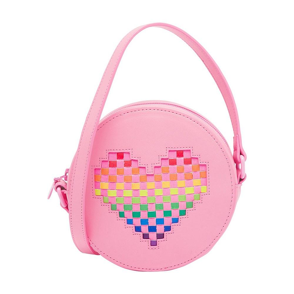 602677 SQD21 / 5563 PINK / Shoulder Bag With Inserted Heart