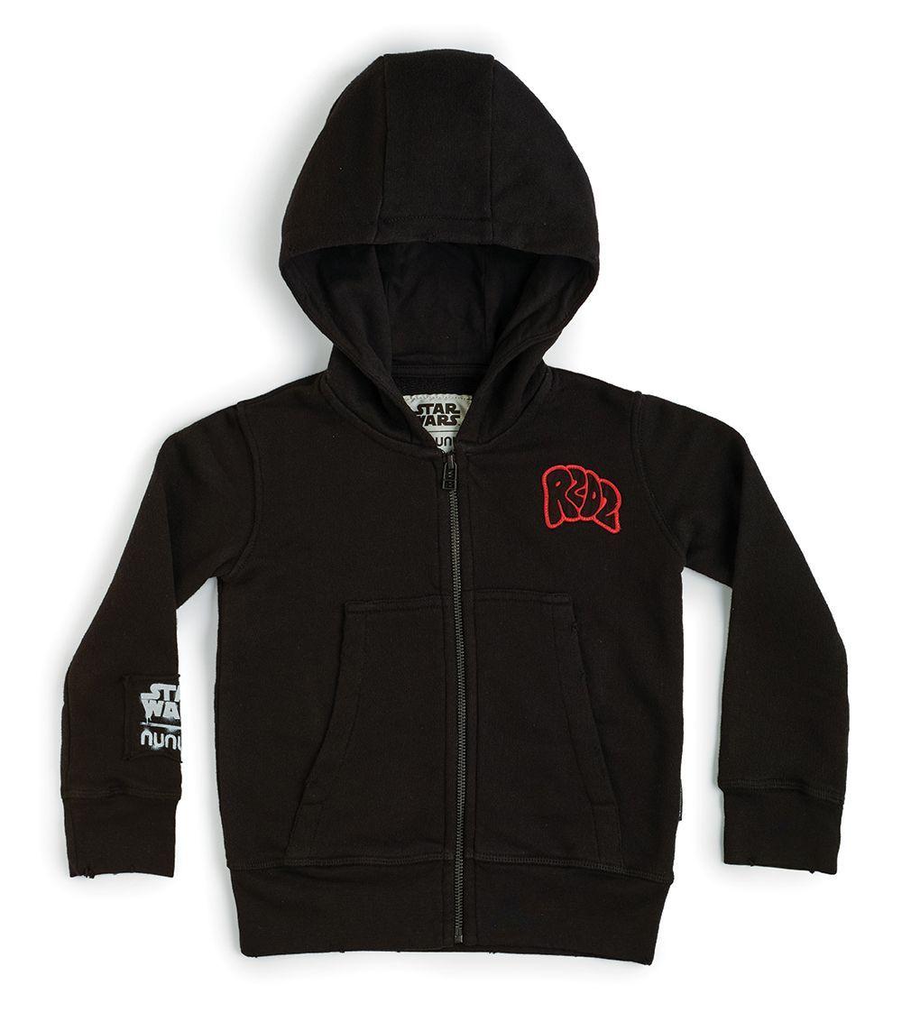 NSW08A / BLACK / Star Wars R2d2 Zip Hoodies