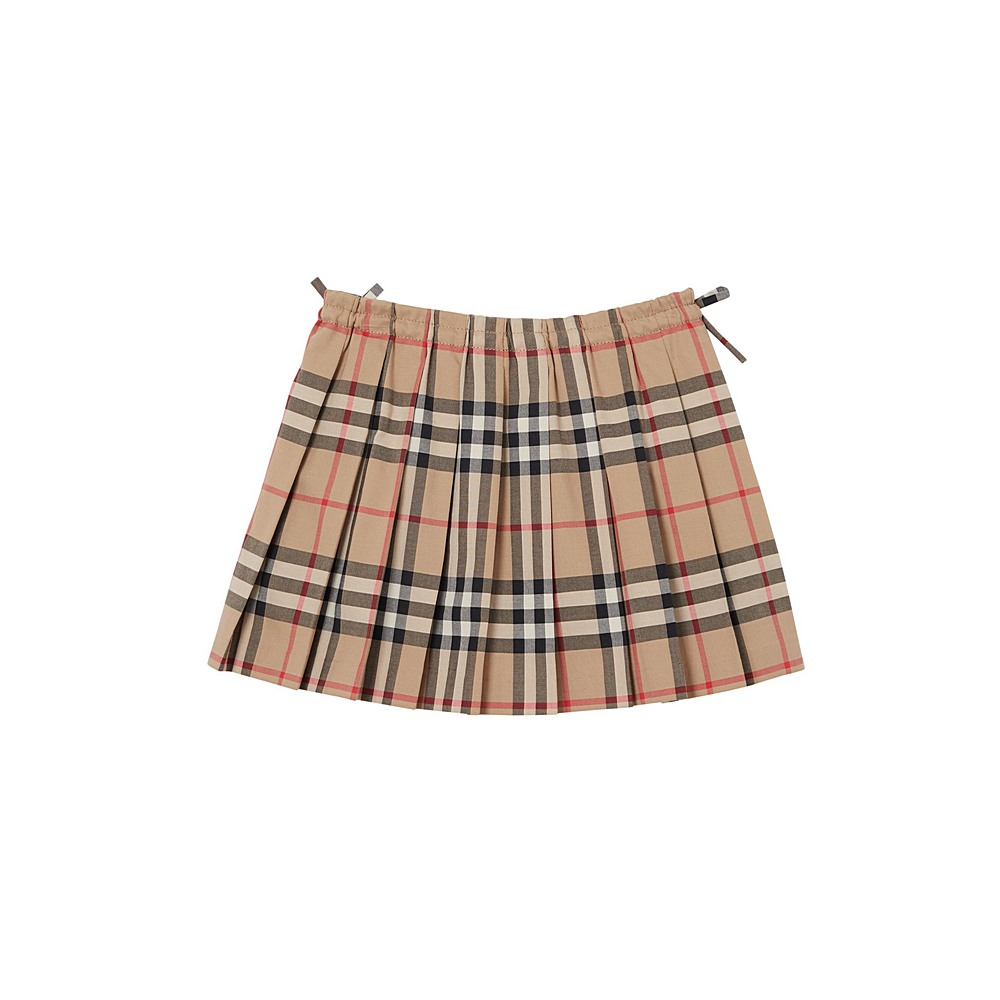 8012122 / ARCHIVE BEIGE / BURBERRY MINI PEARLY SKIRT