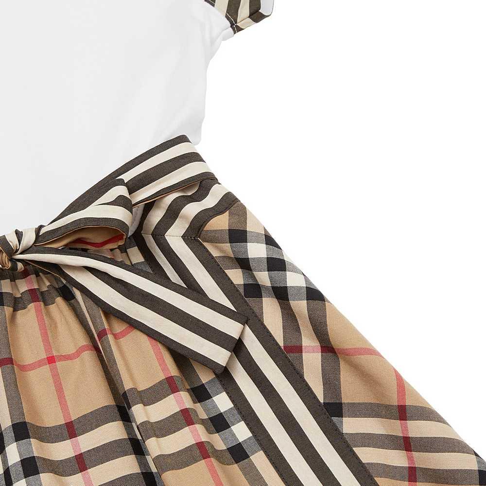 8033572 / ARCHIVE BEIGE / BURBERRY RAGLAN RHONDA DRESS