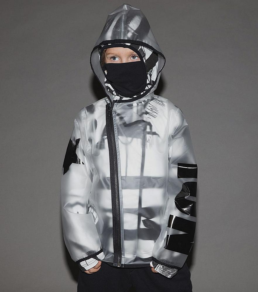 NU2743B / MILKY / Milky Rain Jacket