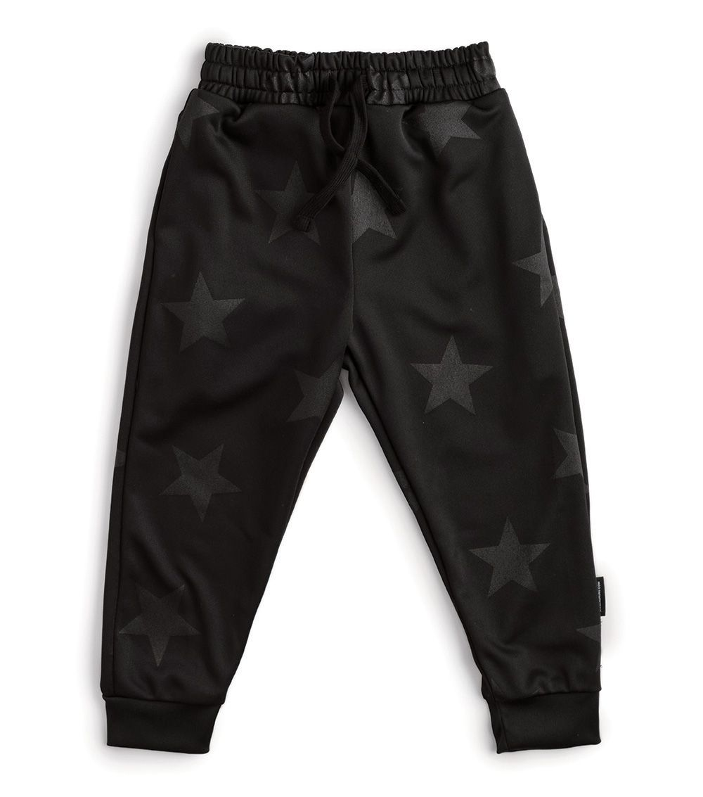 NU2762B / BLACK / Star Training Pants