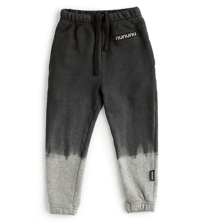 NU2765B / BLACK/HGREY / Tie Dry Sweatpants