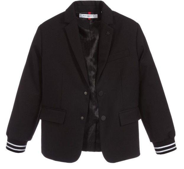 H26024 / BLACK / Givenchy Blazer W/ Cuff Sleeves