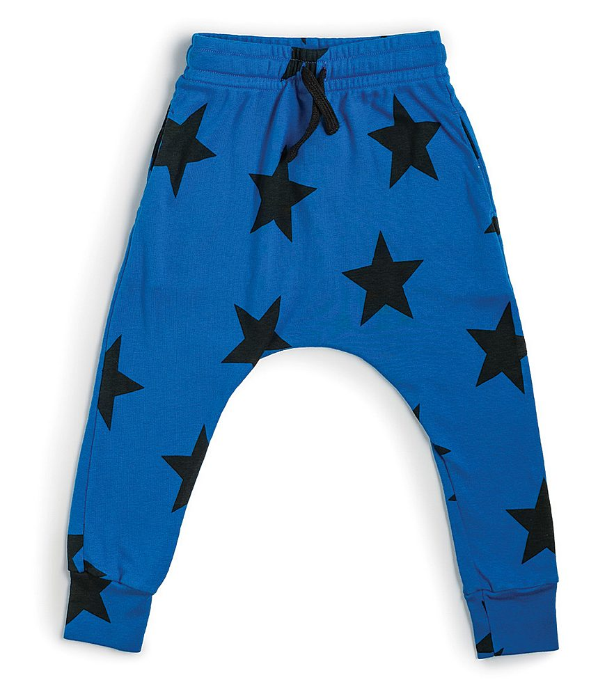 NU1759B / BLUE / Star Baggy Pants