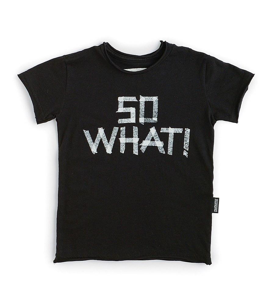 NU2902B / BLACK / So What! T-Shirt