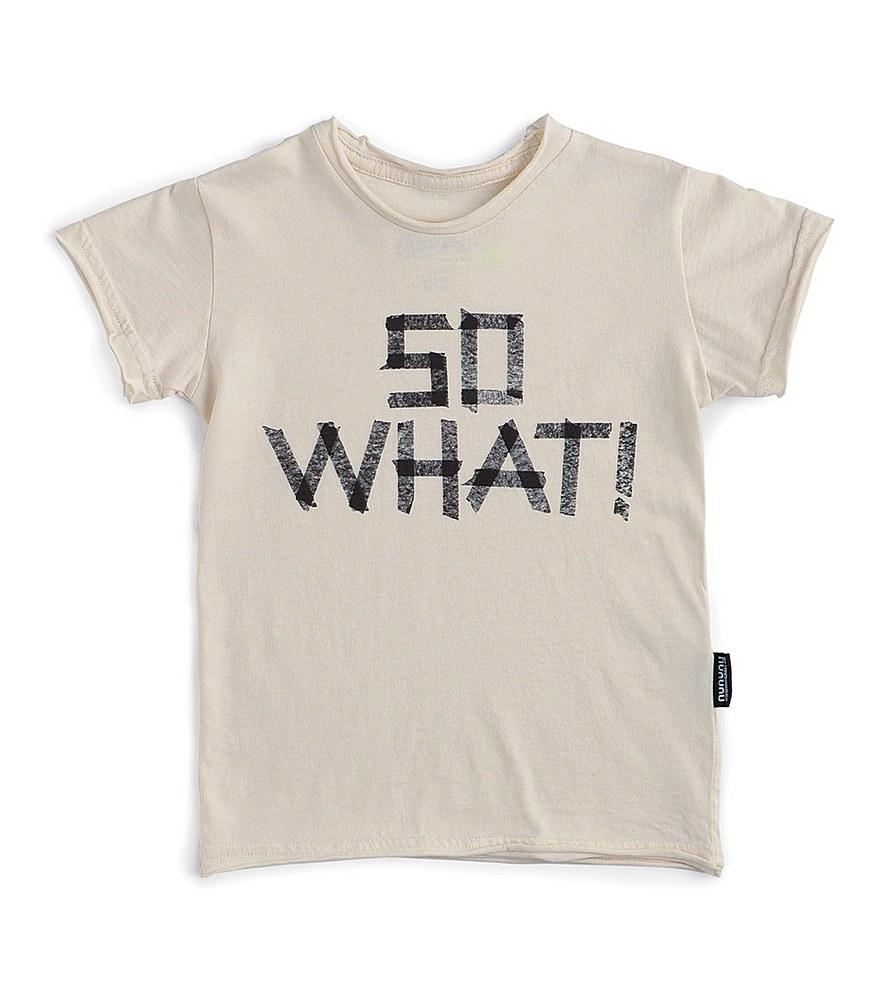 NU2902B / NATURAL / So What! T-Shirt