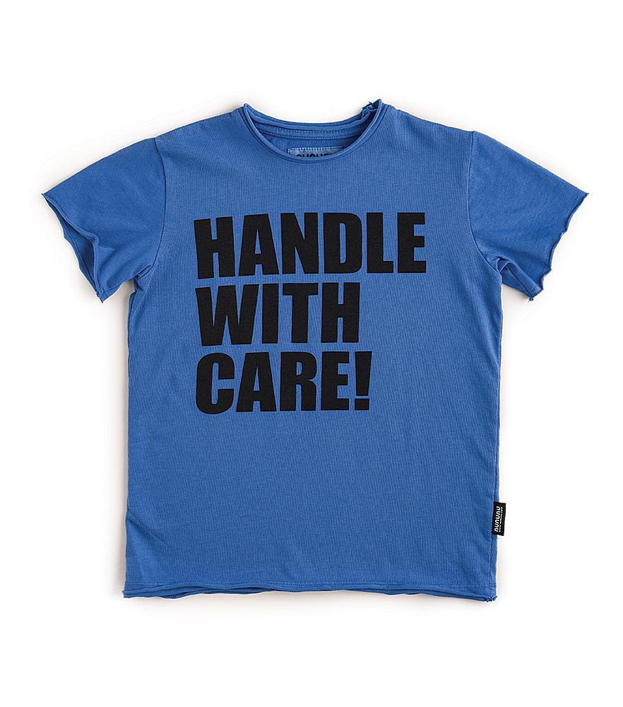 NU2903B / BLUE / Handle W/Care T-Shirt