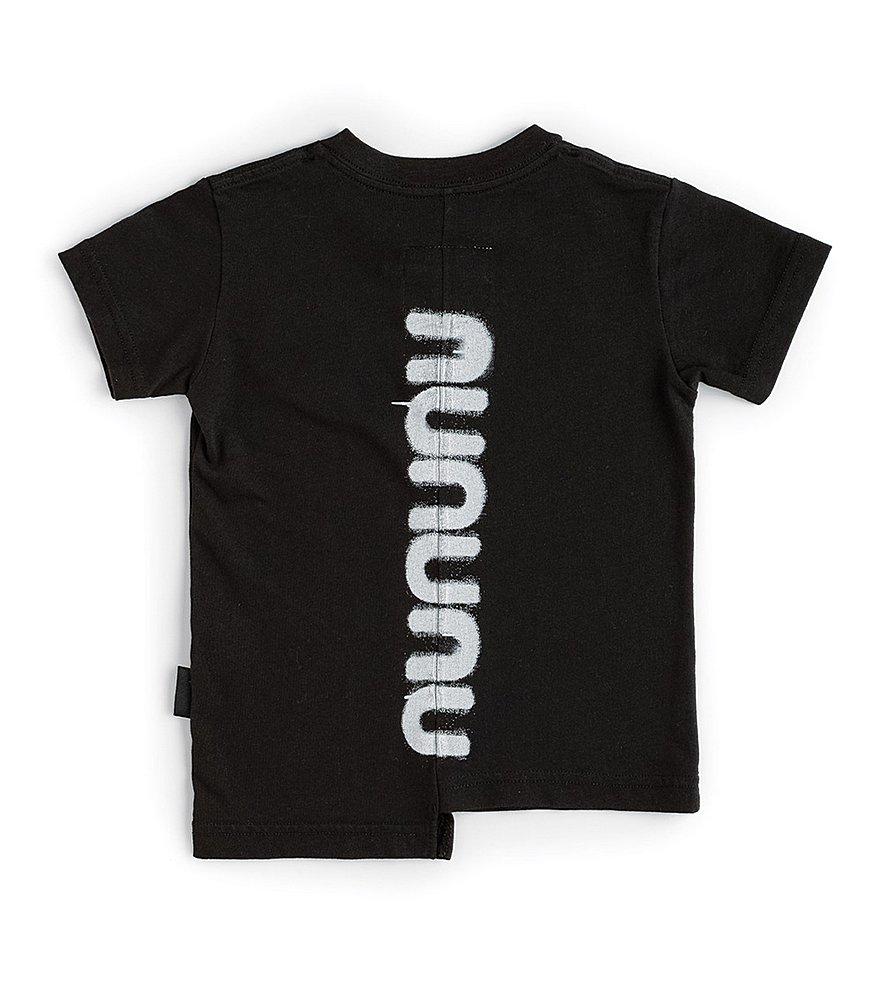 NU2905B BLACK TEE SHIRTS NUNUNU