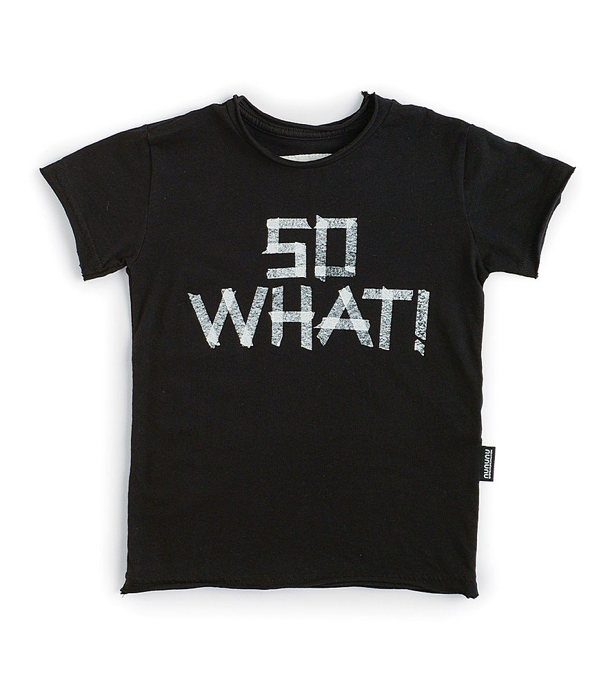 NU2902A / BLACK / So What1 T-Shirt