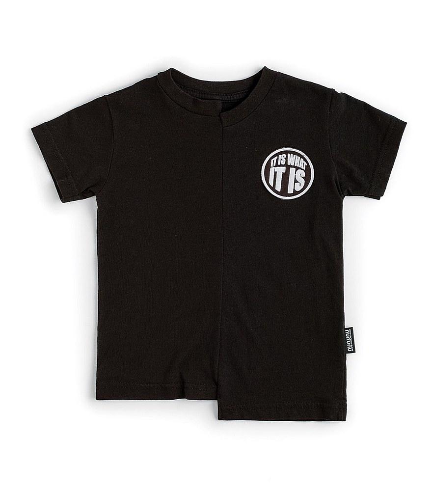 NU2905A / BLACK / What It is T-Shirt