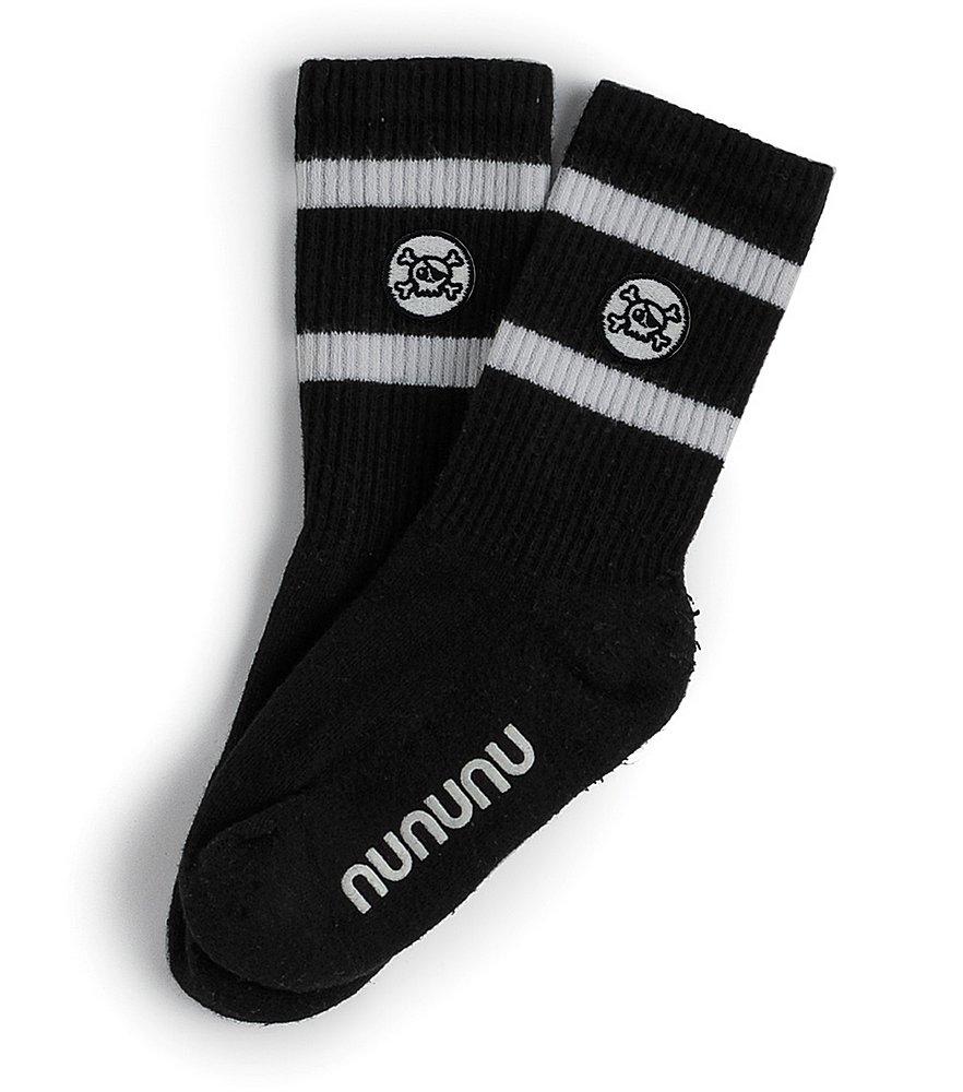 NU3047 / BLACK / Skull Socks Set