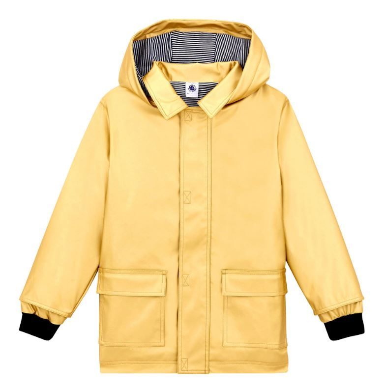 44533 / GOLD / Gold Rain Jacket