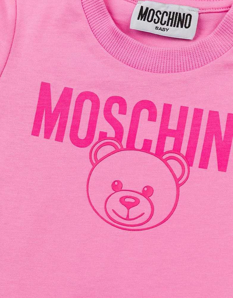MZM02A LAA17 / 50243 BEG PINK / Ss Baby Tee  With Bear