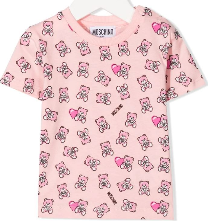 MYM02A LAB22 83343 SUG ROSE MOSCHINO TOPS