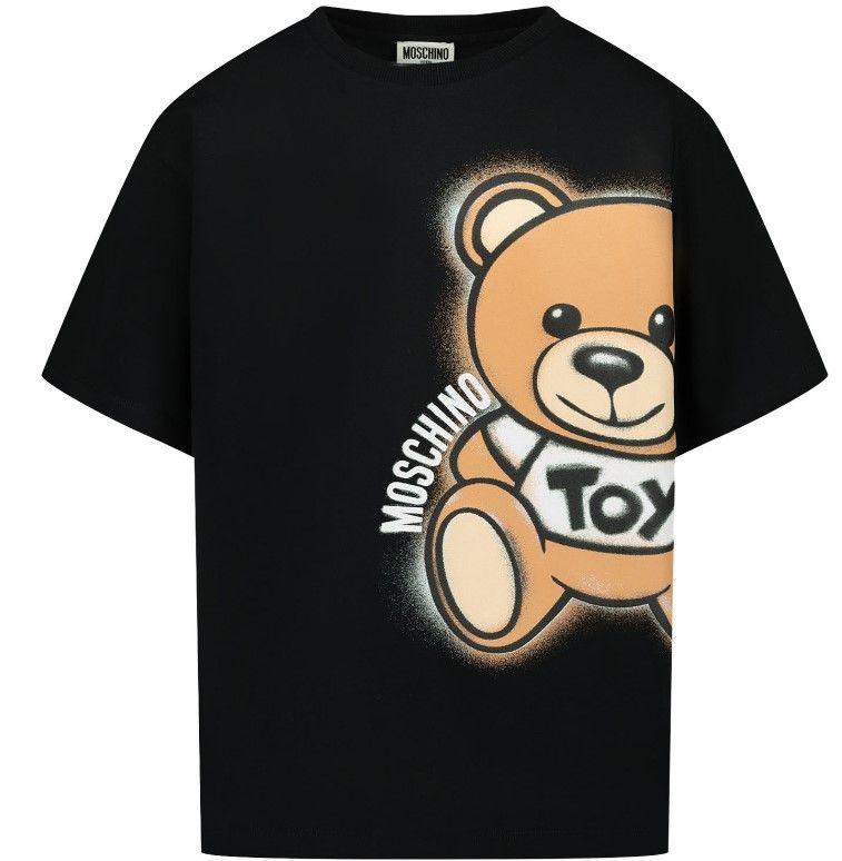 HQM02X LBA18 / 60100 BLACK / S Tee W Big Bear Print