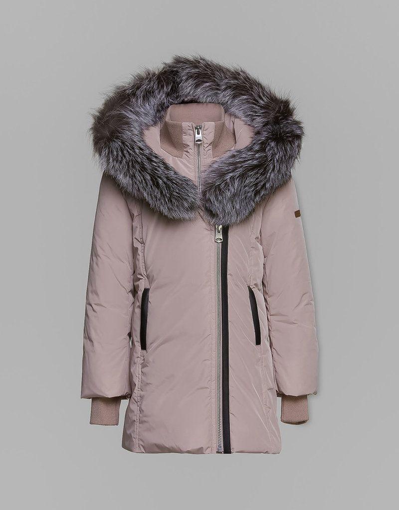 LEELEET.ROSE / ROSE PINK / Mackage Down Jacket
