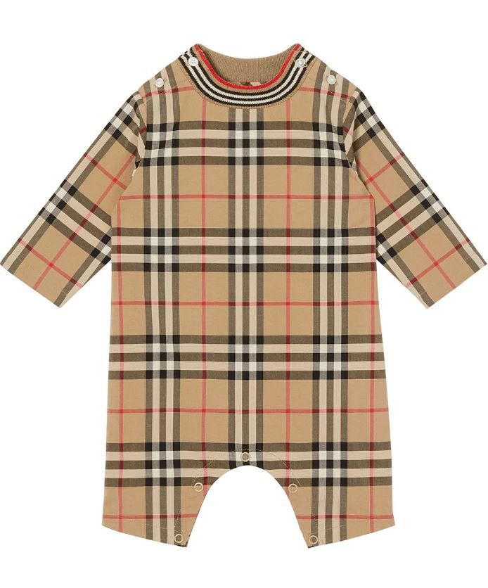 8036579 / MULTI / BURBERRY MICHAEL NB OVERALLS