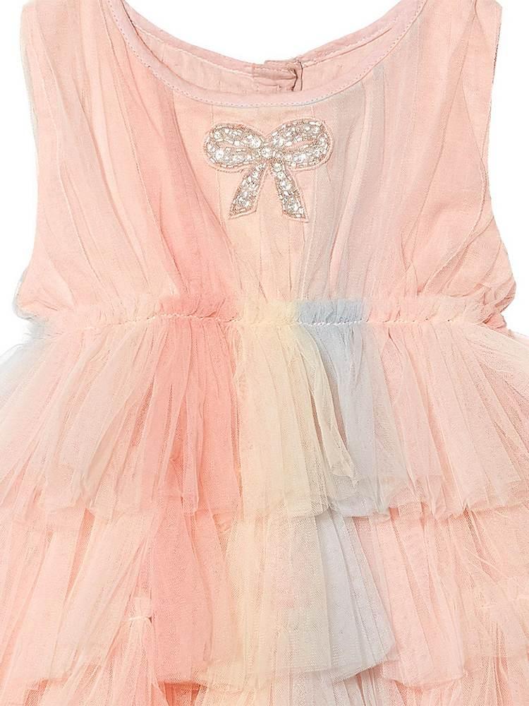 TDM6363 / PETEL MIX / Palm Spring Tulle Dress ' Bebe'