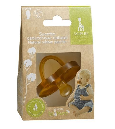 220128 / NATURAL / So'Pure Natural PACIFIER 6-18M