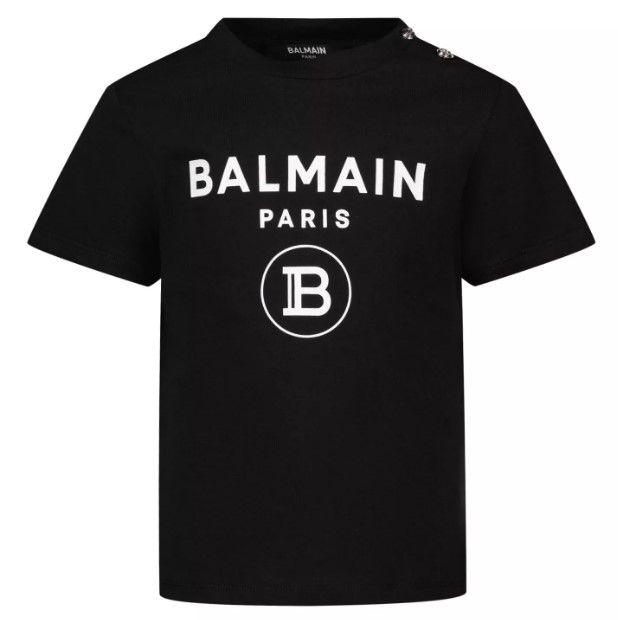 6O8A21 OX390 930BC BLACK BALMAIN TOPS