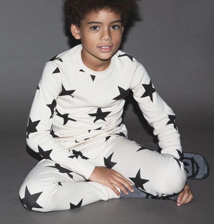 NU2013B / NATURAL / Star Loungewear