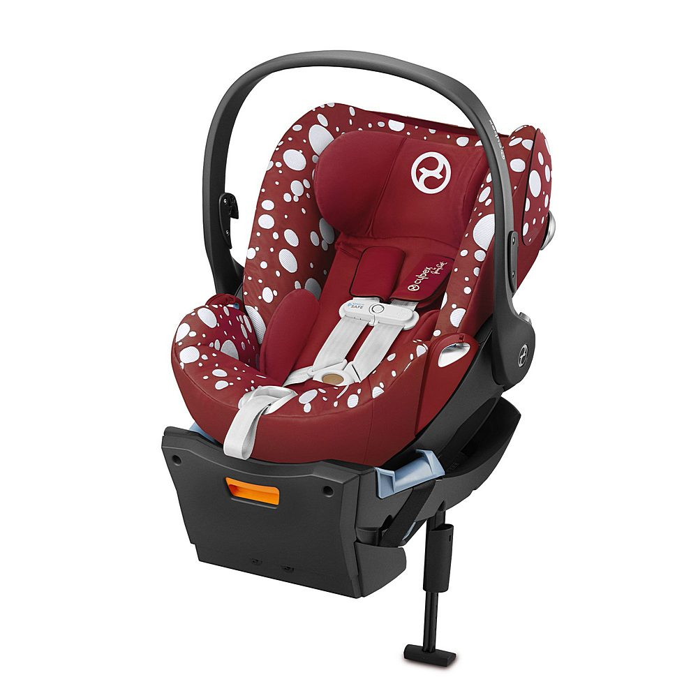 521001857 / RED / Cybex by Jeremy Scott Petticoat Cloud Q Car Seat